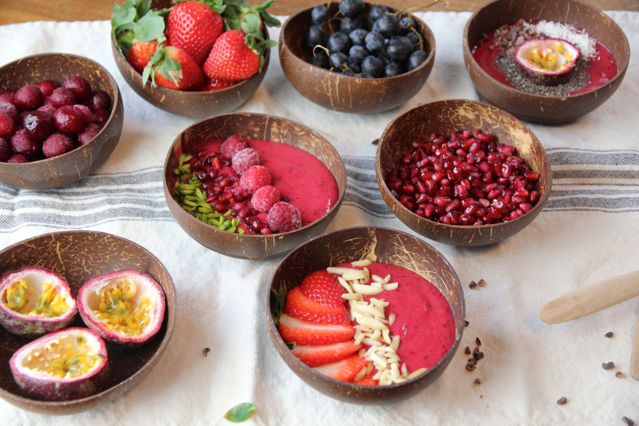 Cherry Berry Smoothie Bowl Labsal 12