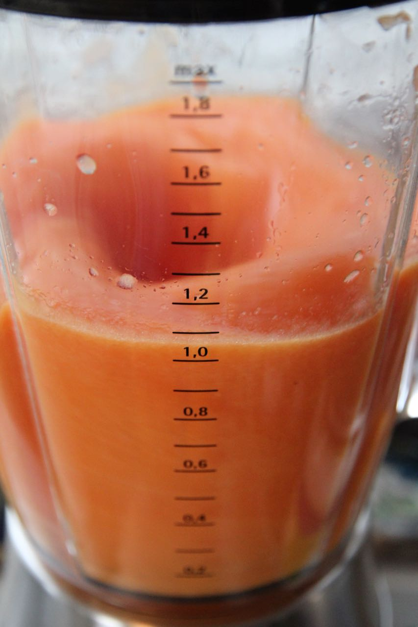 Papaya-Orangen-Smoothie Labsal 2