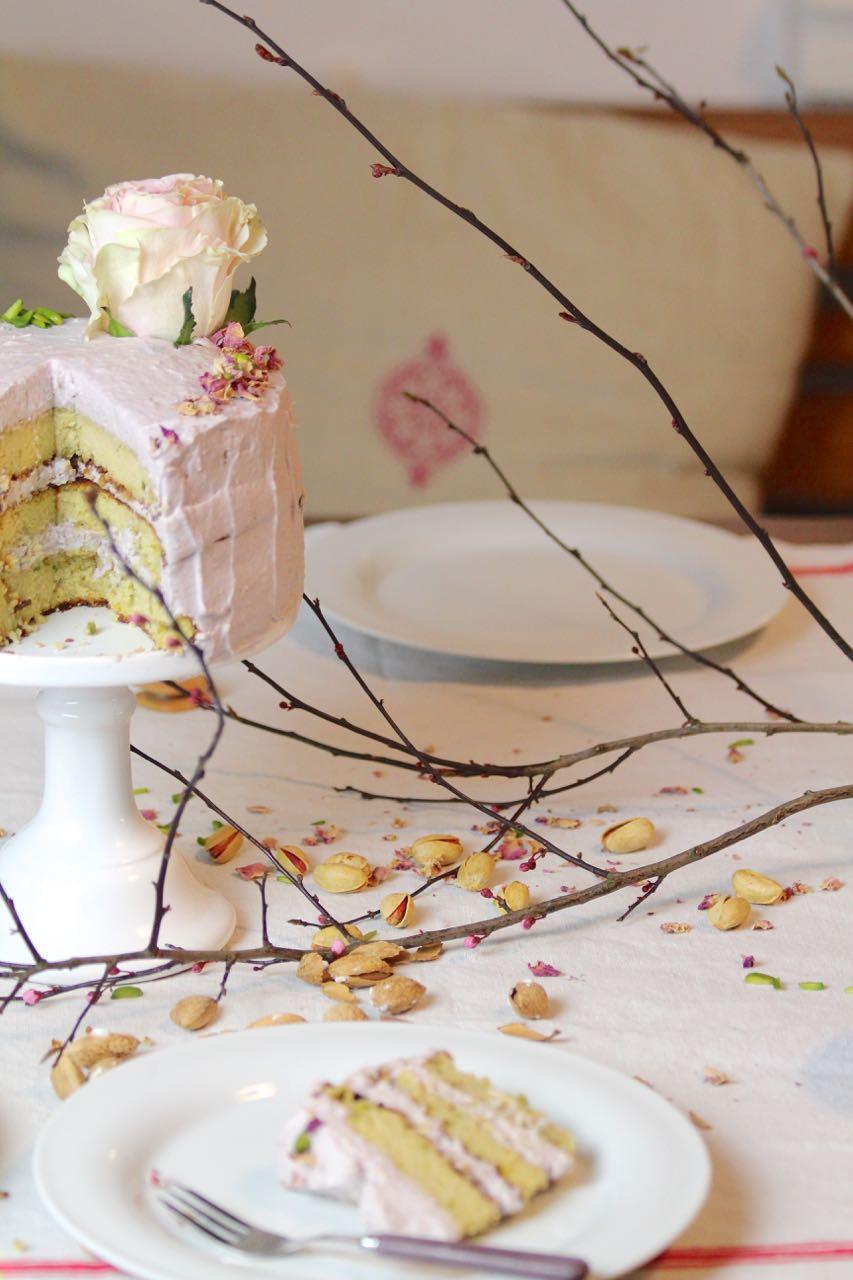 Persian Love Cake - Persischer Liebeskuchen Glutenfrei