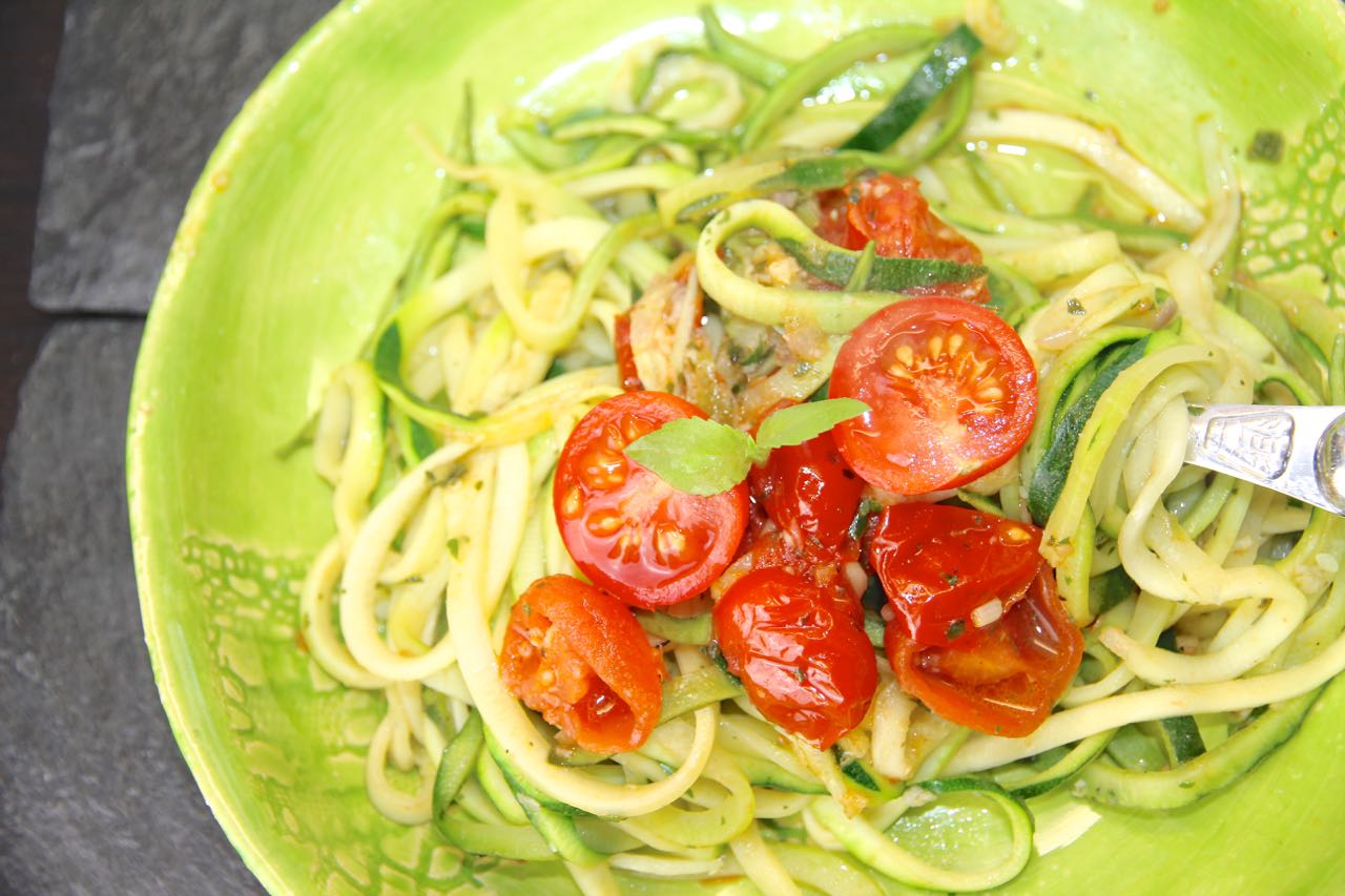 Zoodles Aglio e Olio Labsal 1