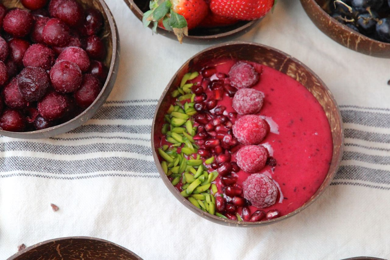 Cherry Berry Smoothiebowl Labsal 4