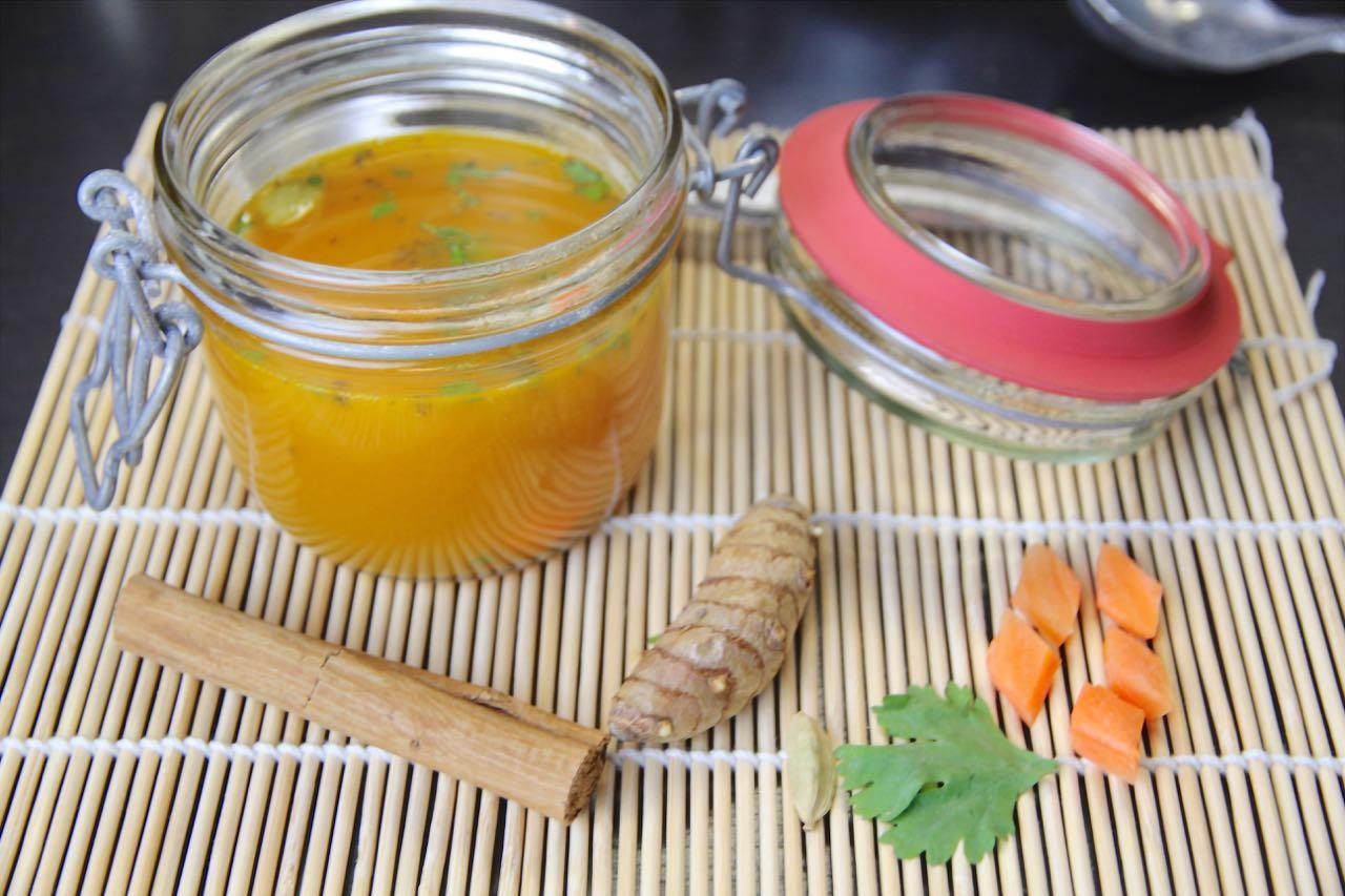 Karotten-Ingwer-Suppe Labsal 9
