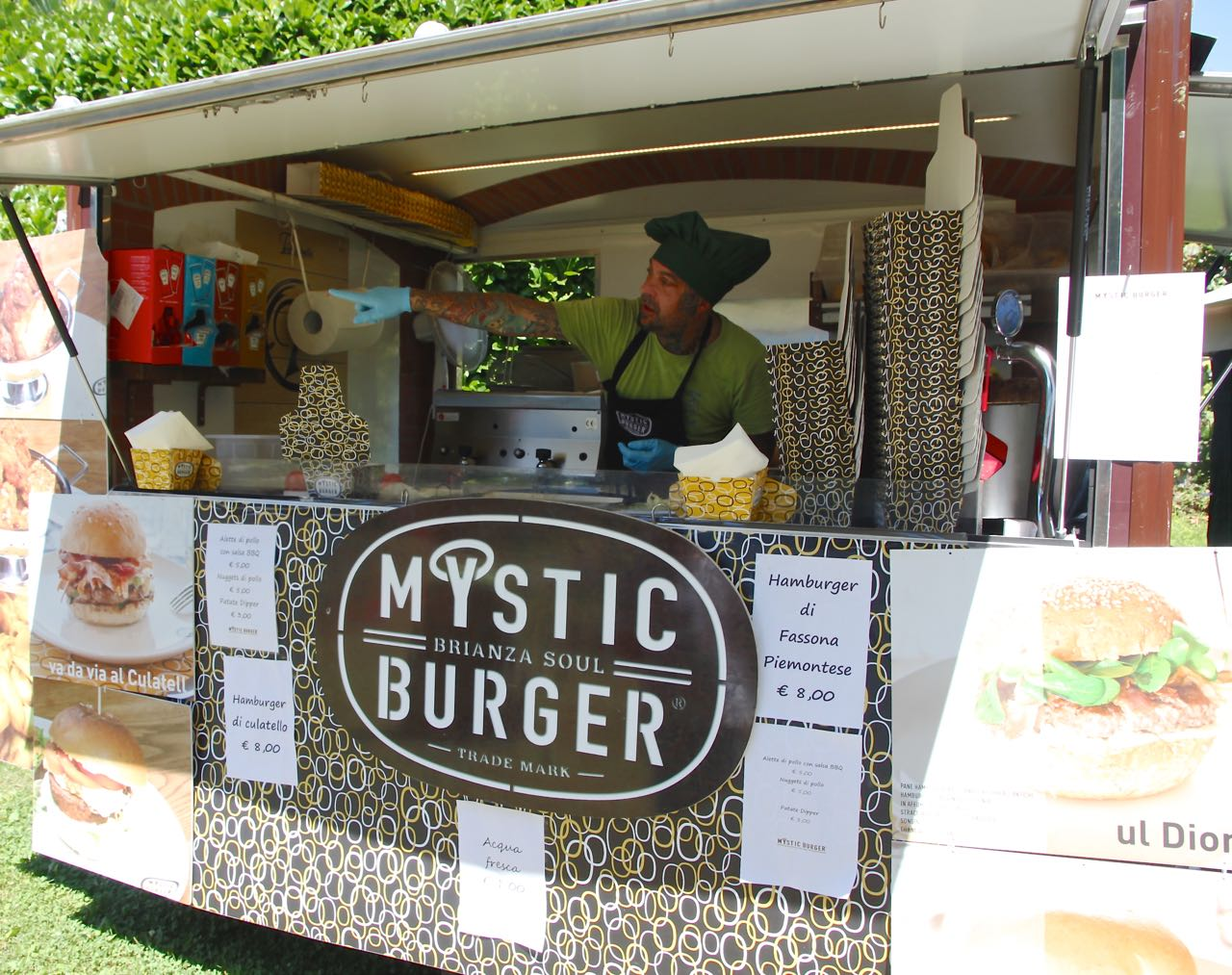 Street Food Festival Parco Meyer am Comer See Labsalliebe
