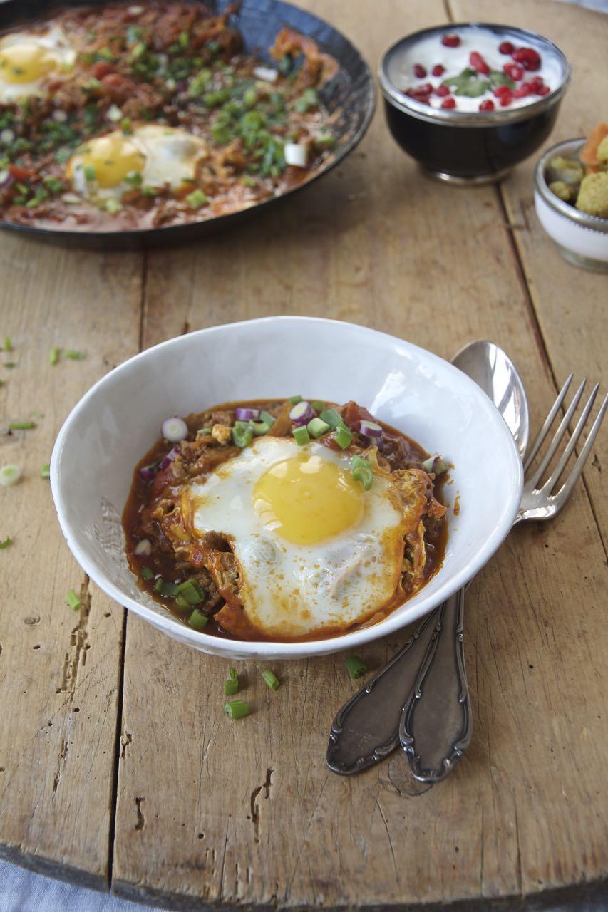 Vavishka - ein schnelles persisches Pfannengericht