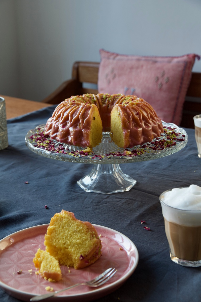 Persian Love Bundt Cake
