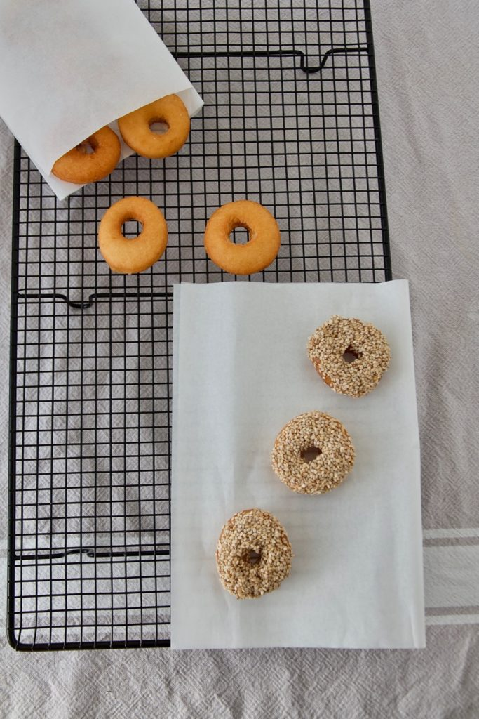 Mini Donuts in Sirup nach persischer Art