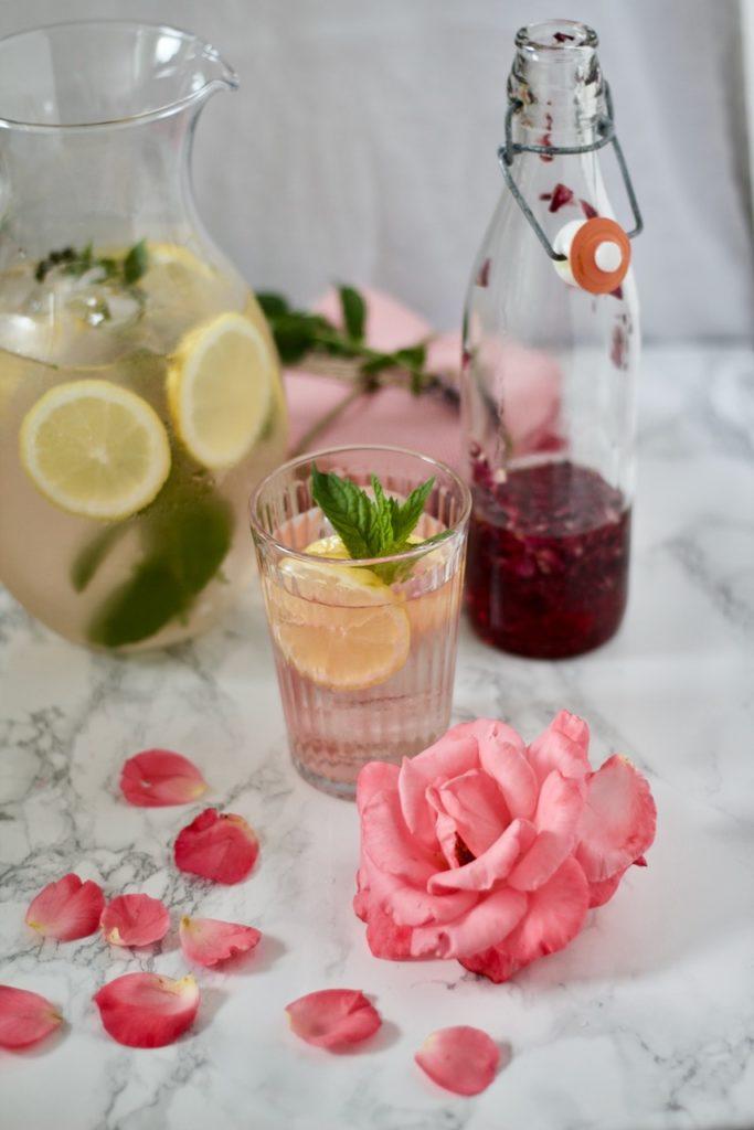 Sharbat-e Gol - Rosen-Limonade شربت گل